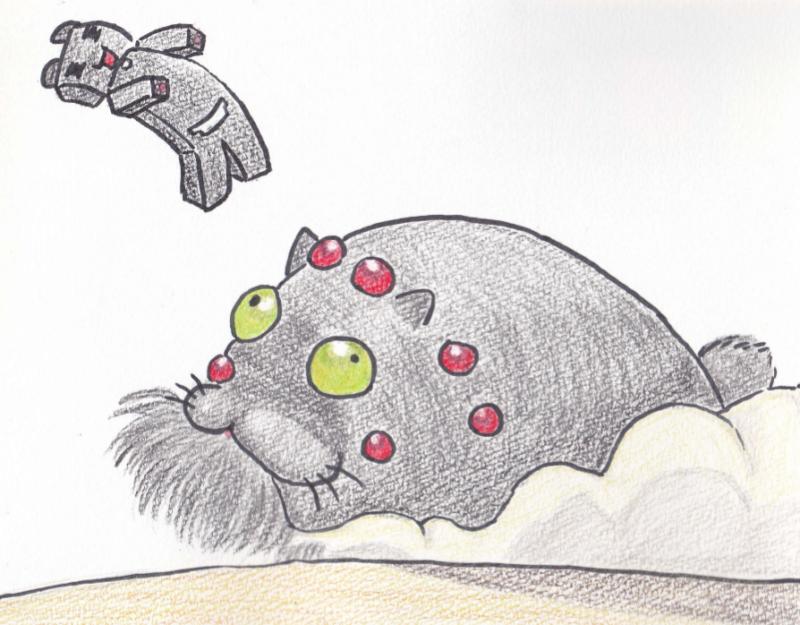 オームならぬニャウムに轢かれる猫