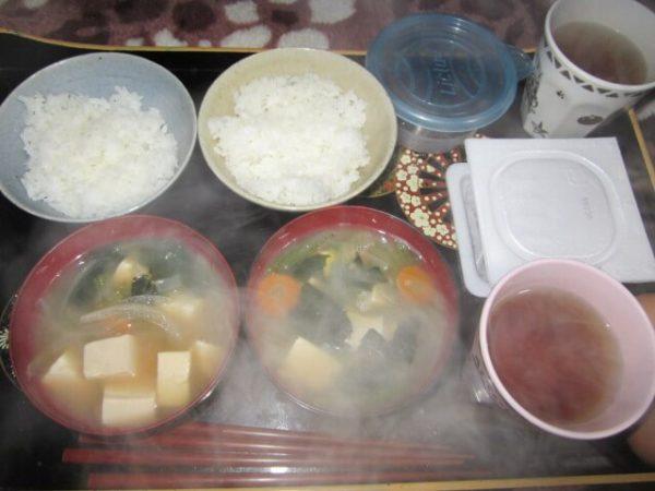 無理しない、節約ダイエット9日目さび猫しめじが納豆食べた
