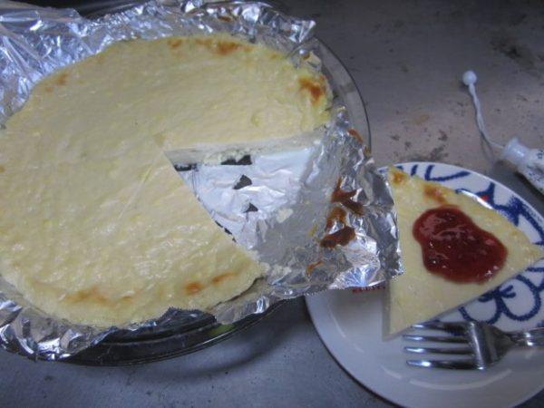 田舎で貧乏ダイエット18日目旦那に低カロリーケーキ作った