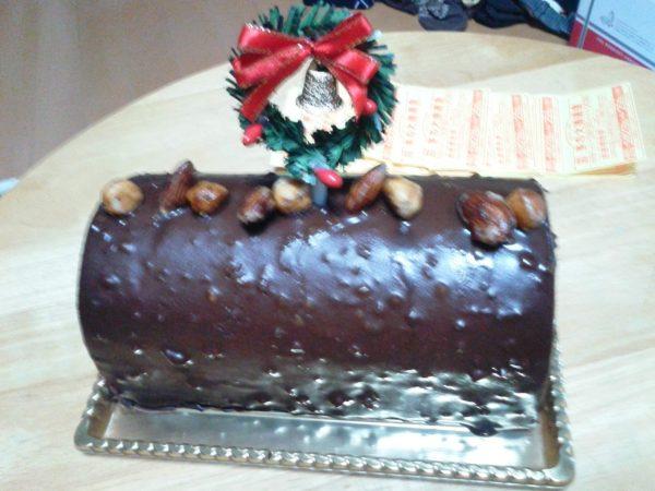 ぷっこ&ししゃものクリスマスケーキ