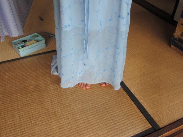 ワンピースの裾上げを自分でやってみた話
