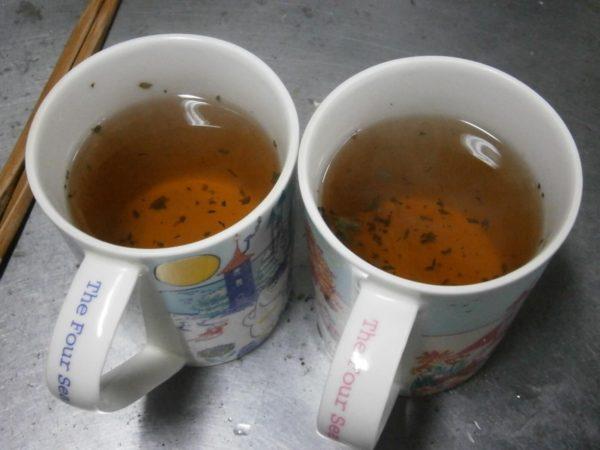 自家製ドクダミ茶を作ります