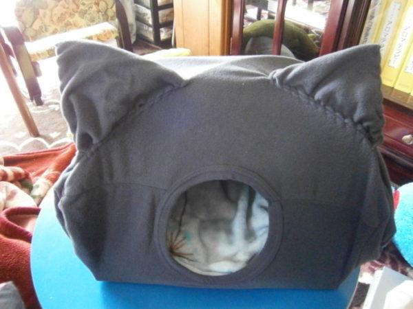 ぬくぬくドーム型猫ハウスを作ってみたo(^Ф∀Ф^)o