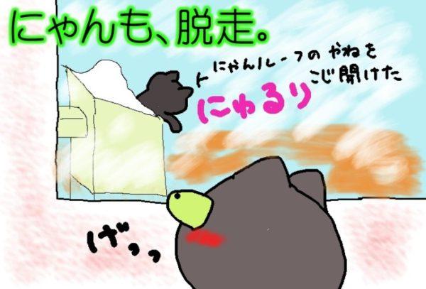 灰色猫ししゃもの逃避行①