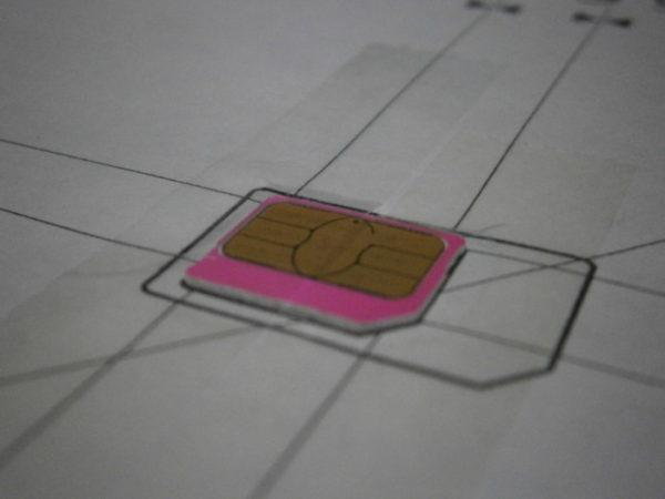 新しいスマホを買ったらSIMカードが入らへん。【microSIMからnanoSIMへカット。スマホケースもリメイク】