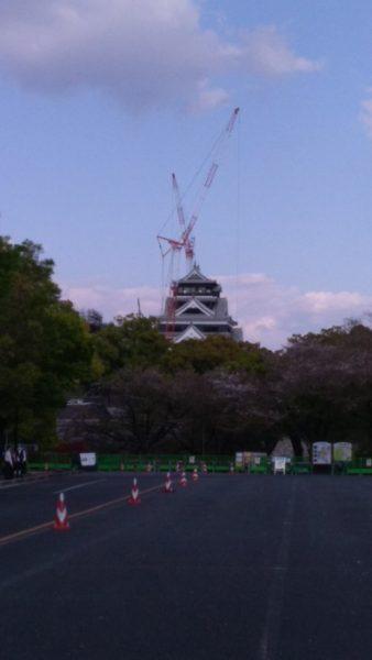 6年ぶりの熊本城