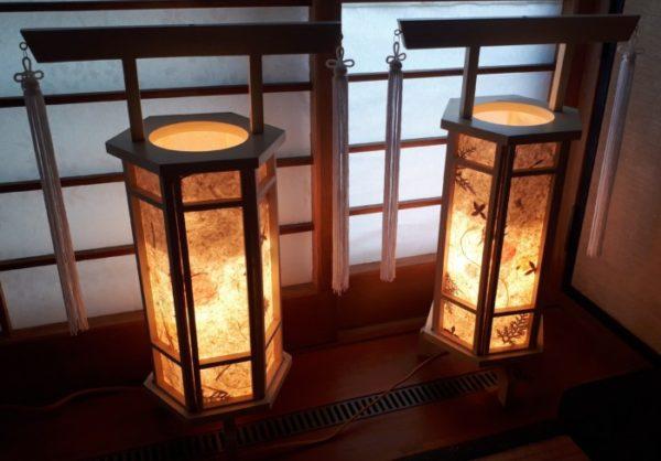 最近の盆灯篭がカワイイ