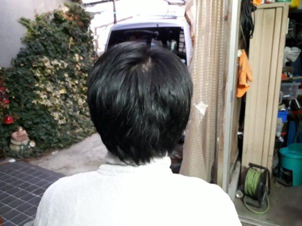 自分で旦那の散髪
