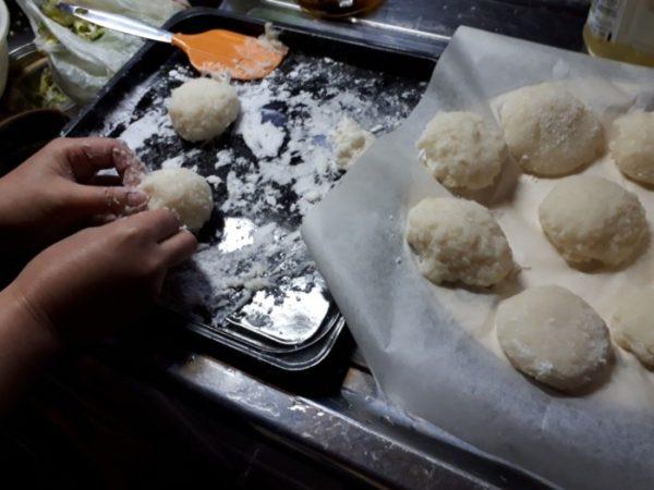 1月も後半だけどsanyoのgopanでお餅作ってみた。