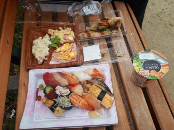 色々自粛中だけど、お外でお寿司が食べたくて