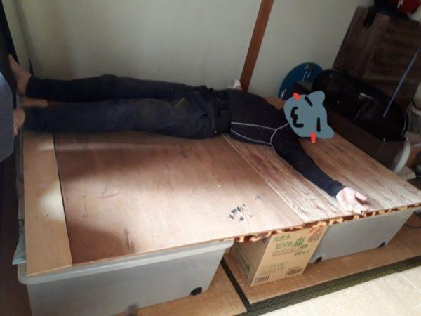 シングルサイズのベッドをダブルサイズにリメイク【DIYでしかも低コストで】