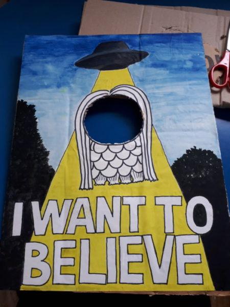 I WANT TO BELIEVE(ФωФ).【#アマビエチャレンジ #猫】