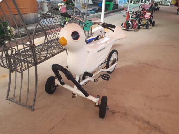 ひめじ手柄山遊園のチャリティーに申込みしてみた、ハトよめっぽい自転車