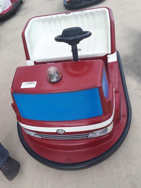 ひめじ手柄山遊園のチャリティーに申込みしてみた、消防車のバッテリーカー