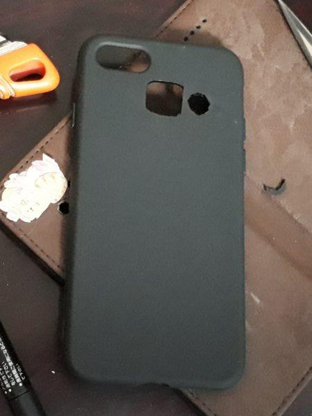 iPhone用のスマホケースをアンドロイド(Galaxy SC-04J)仕様にしてみる【100円ショップ商品でプチDIY】
