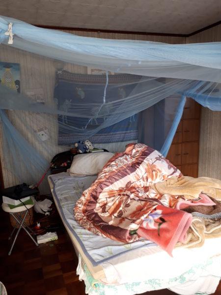 冬支度その1~寝床の移動と板間にカーペット~