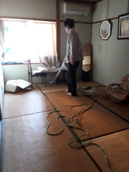 冬支度その1~寝床の移動と板間にカーペット~古民家暮らし