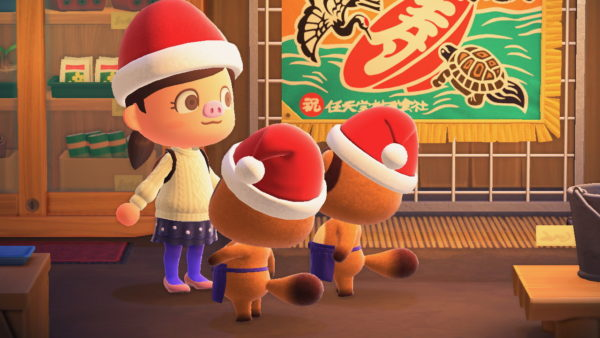 メリークリスマス2020( ・∀・)【もっぱらあつまれどうぶつの森】