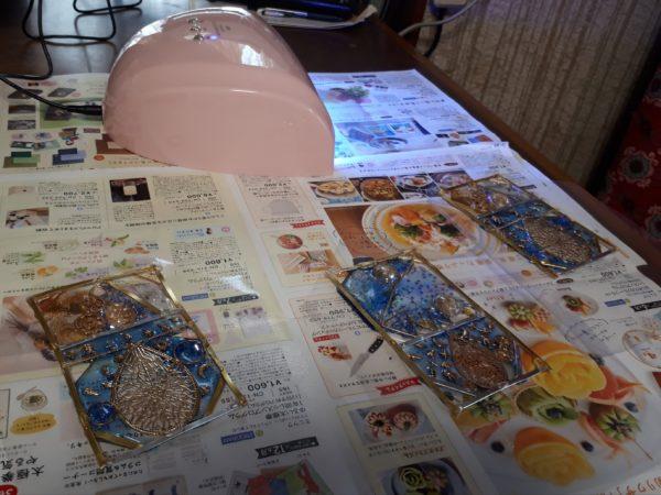 UVレジンで『古代宇宙飛行士説のオーパーツ的なモロッコ風ソーラーランタン』を作ってみた