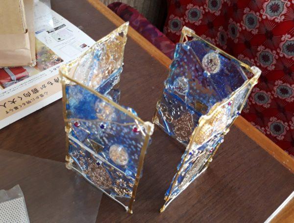 UVレジンで『古代宇宙飛行士説のオーパーツ的なモロッコ風ソーラーランタン』を作ってみた(ФωФ)bその2